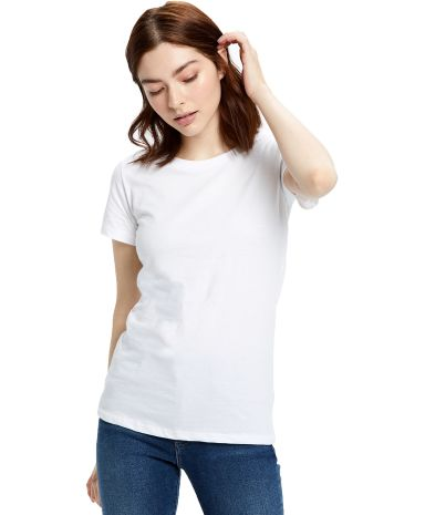 US Blanks US100 Women's Jersey T-Shirt White