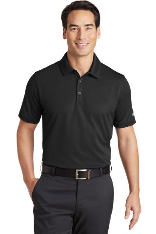 Nike Golf 746099  Dri-FIT Solid Icon Pique Modern  Black