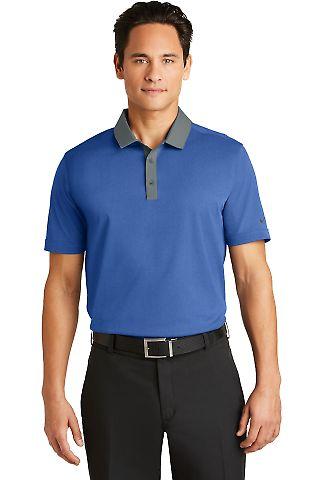 Nike Golf 779798  Dri-FIT Heather Pique Modern Fit Blue Heather