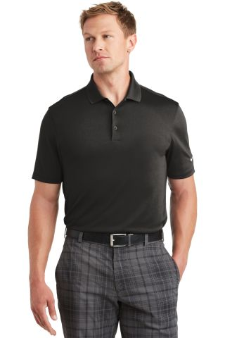 Nike Golf 838956  Dri-FIT Players Polo with Flat K Anthracite