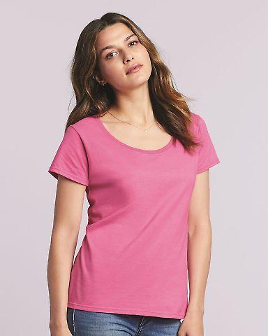 Gildan 64550L Softstyle Women's Deep Scoopneck T-Shirt Catalog
