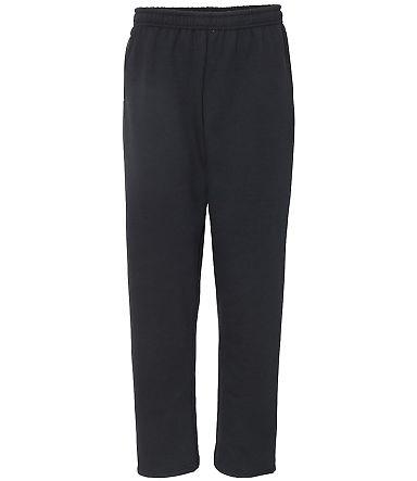 Gildan 18300 Heavy Blend Open Bottom Sweatpants wi BLACK