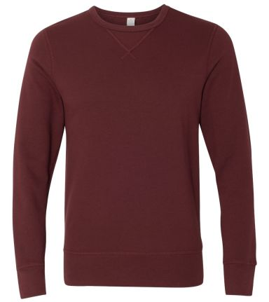 Alternative 5065 Vintage French Terry B-Side Rever MAROON
