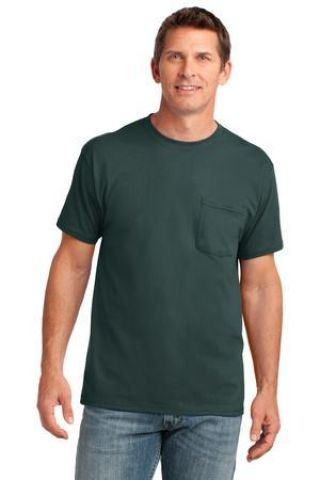 Port & Co PC54P mpany   Core Cotton Pocket Tee Catalog