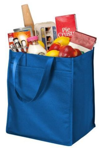 Port Authority B160    - Extra-Wide Polypropylene Grocery Tote Catalog