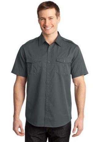 Port Authority S648    Stain-Release Short Sleeve Twill Shirt Catalog