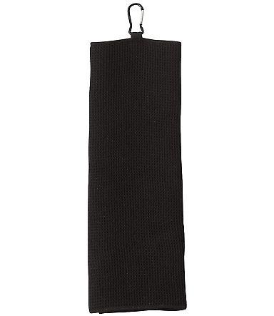 Carmel Towel Company C1717MTC Fairway Golf Towel BLACK