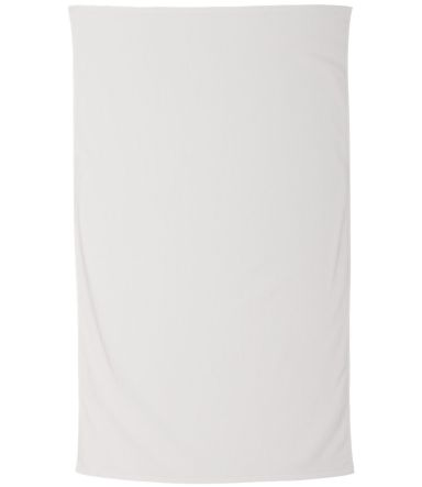 Carmel Towel Company C3560 Legacy Velour Beach Tow WHITE