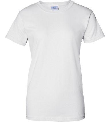 2000L Gildan Ladies' 6.1 oz. Ultra Cotton® T-Shir WHITE