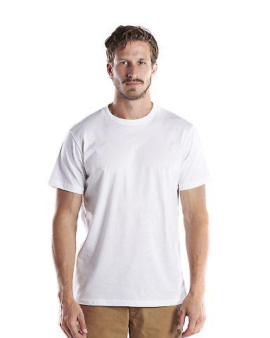US Blanks US200OR Men's 5.8 oz. Short-Sleeve Organ White