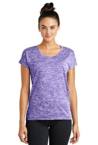 Sport Tek LST390 Sport-Tek Ladies PosiCharge Electric Heather Sporty Tee Catalog