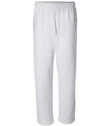 G184 Gildan 7.75 oz., 50/50 Open-Bottom Sweatpants ASH