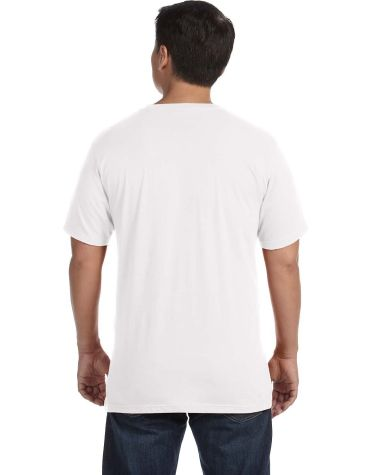 450 Anvil 50/50 Organic Recycled Tee White (Discontinued)