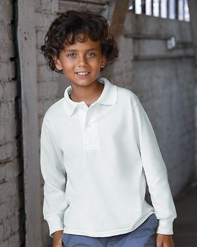 Jerzees 437YLR SpotShield Youth Long Sleeve Sport Shirt Catalog