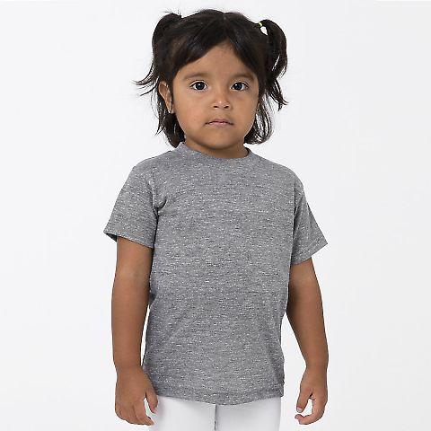 Los Angeles Apparel TR1001 / Kids Tri-Blend Tee Athletic Grey