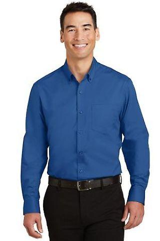 242 TS663 Port Authority Tall SuperPro Twill Shirt Catalog