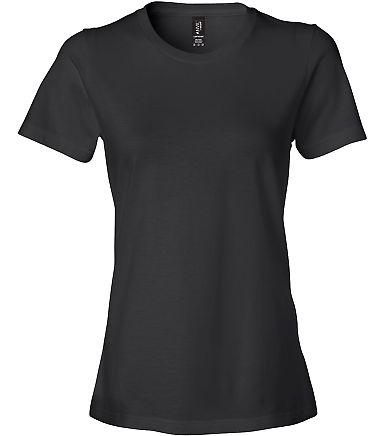 Anvil 880 Women's Lightweight Ringspun T-Shirt Black