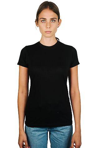 0240 Tultex Ladies Ultra Blend Tee  Black