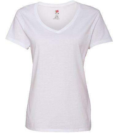 S04V Nano-T Women's V-Neck T-Shirt White