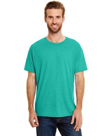 Hanes 42TB X-Temp Triblend T-Shirt with Fresh IQ o Breezy Green Triblend