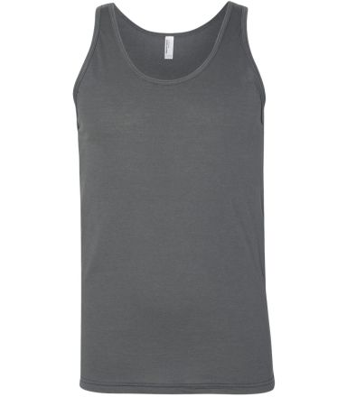 BB408W Poly/Cotton Tank ASPHALT