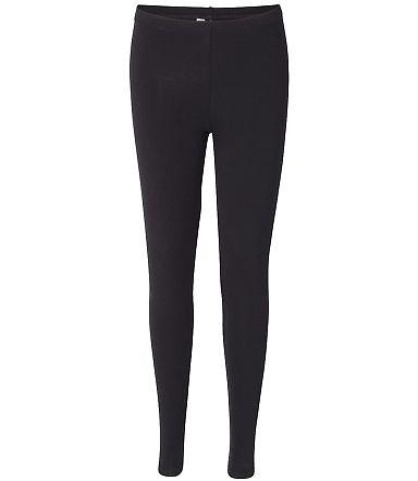 8328W Women's Spandex Jersey Legging BLACK