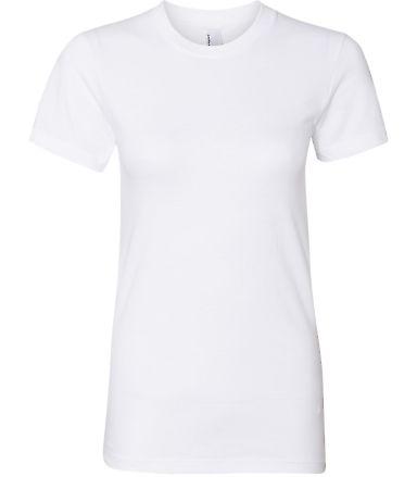 2102W Women's Fine Jersey T-Shirt WHITE