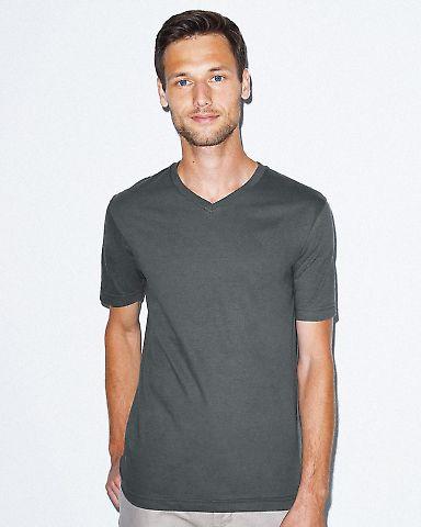 24321W Unisex Fine Jersey Short Sleeve Classic V-Neck Catalog