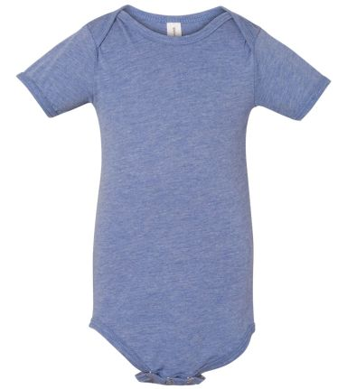 134B Bella + Canvas Baby Triblend Short Sleeve One BLUE TRIBLEND