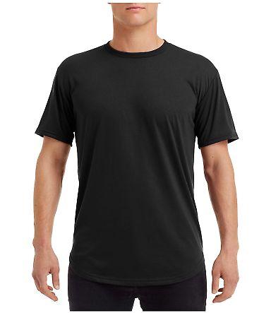 Anvil 900C Adult Curve T-Shirt Black