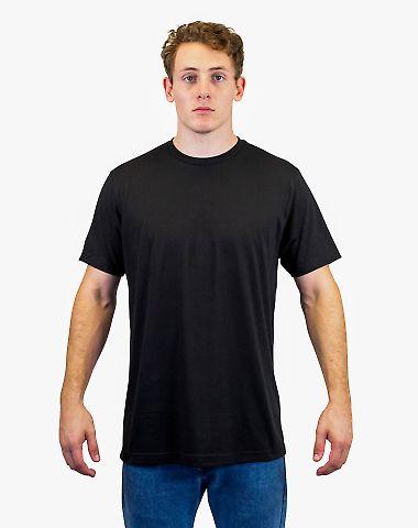 0241 Tultex Unisex Ultra Blend Tee  Black