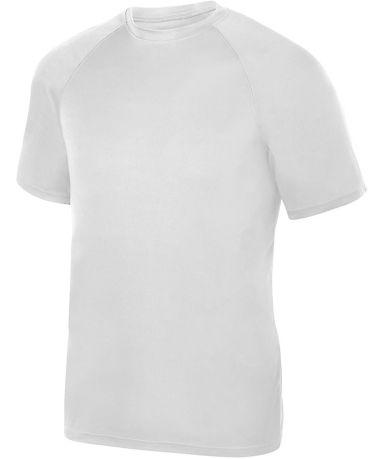 Augusta Sportswear 2791 Attain True Hue Youth Perf WHITE