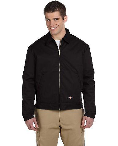 TJ15 Dickies Eisenhower Classic Lined Jacket BLACK