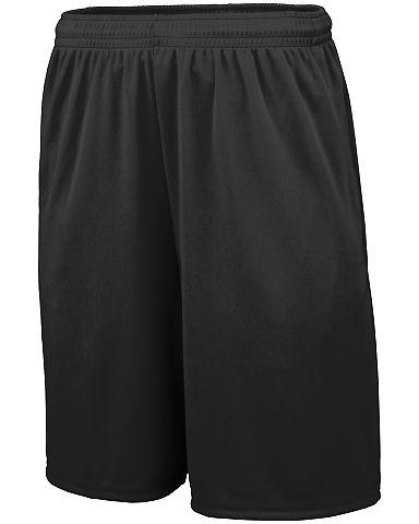 Augusta Sportswear 1429 Youth Training Short with  BLACK