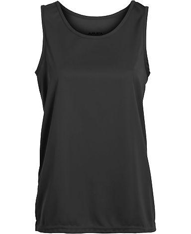 Augusta Sportswear 1706 Girls' Training Tank BLACK