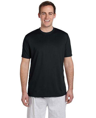 Harriton M320 Men's 4.2 oz. Athletic Sport T-Shirt BLACK