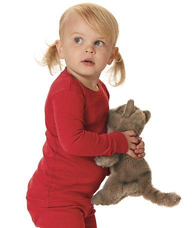 Rabbit Skins 201Z Toddler Baby Rib Long Sleeve Pajama Top Catalog