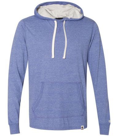Champion Clothing AO100 Originals Triblend Hooded  Athletic Royal Heather