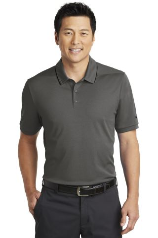 Nike AA1849  Dri-FIT Edge Tipped Polo Anthracite/Blk