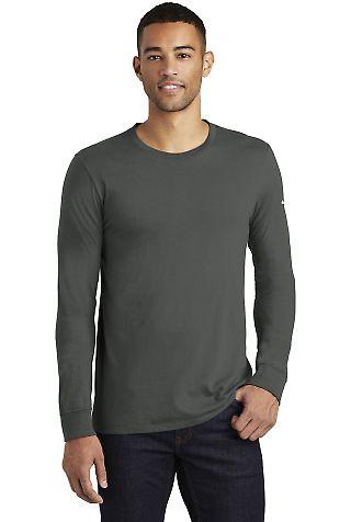 Nike BQ5232  Core Cotton Long Sleeve Tee Anthracite