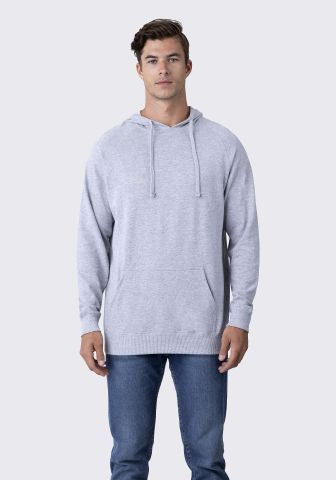 Cotton Heritage M2630 French Terry Pullover Hoodie Athletic Heather