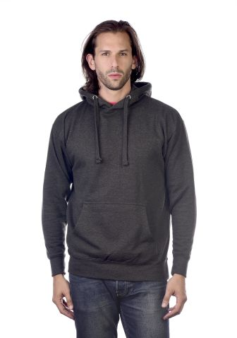 Cotton Heritage M2600 Prem. Pullover Hoodie—Vint Charcoal Heather
