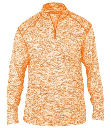 Badger Sportswear 4192 Blend Quarter-Zip Pullover Burnt Orange
