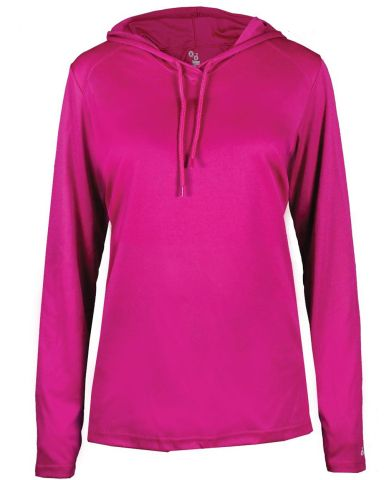 Badger Sportswear 4165 B-Core L/S Women's Hood Tee Catalog