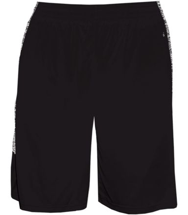 Badger Sportswear 2195 Blend Panel Youth Shorts Black/ Black Blend