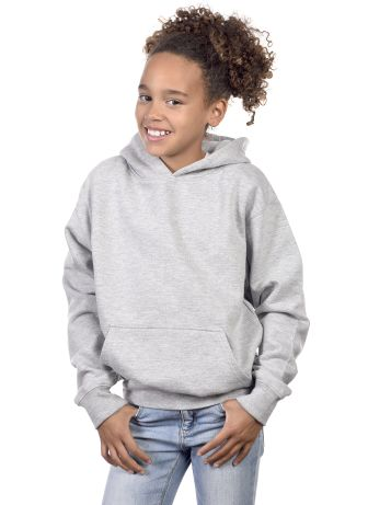 Cotton Heritage Y2500 PREMIUM PULLOVER YOUTH HOODI Athletic Heather