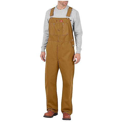 Dickies Workwear DB100R Men's Bib Overall BROWN DUCK _44