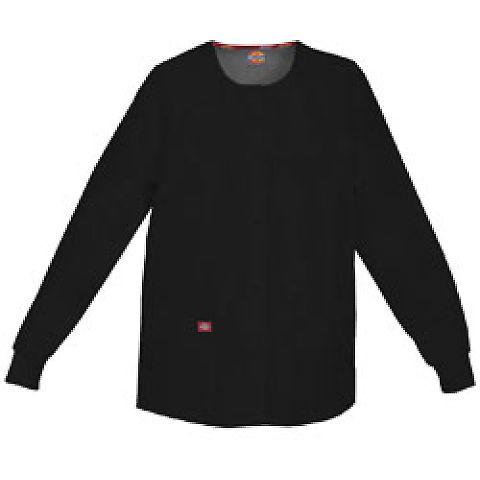 Dickies Medical 86306 / Round Neck Jacket Black