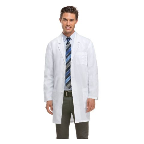 Dickies Medical 83402/Unisex Lab Coat Dickies White