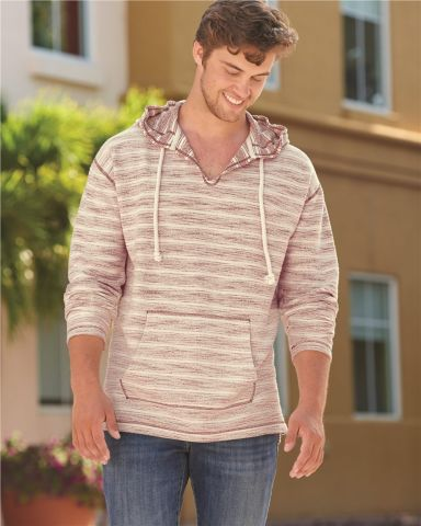 J America 8692 Baja French Terry Hooded Pullover Catalog